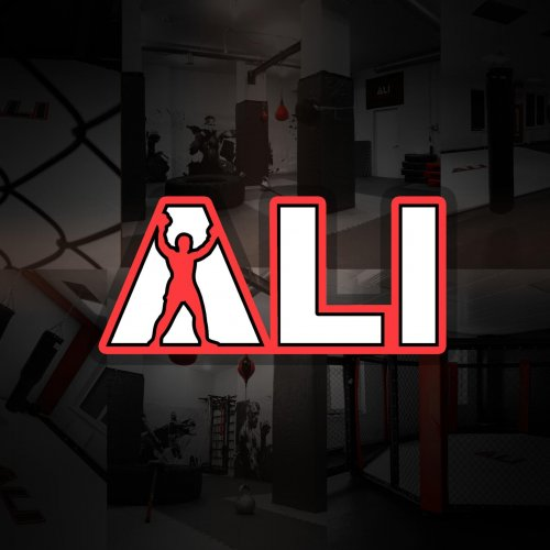 "Логотип организации Академия единоборств ""ALI"""